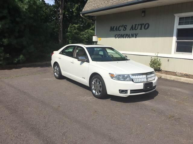 2009 Lincoln MKZ for sale at MAC'S AUTO COMPANY in Nanticoke PA