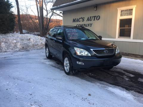2009 Lexus RX 350 for sale at MAC'S AUTO COMPANY in Nanticoke PA