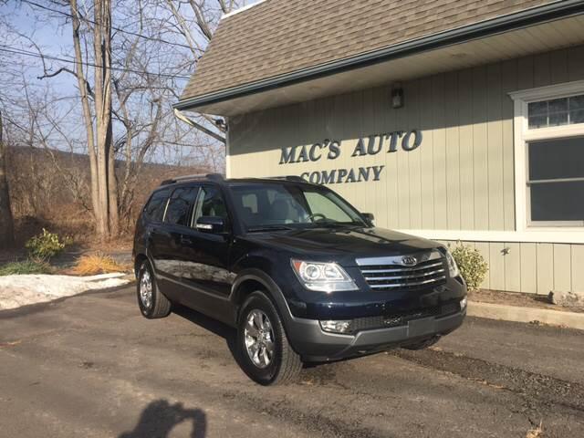 2009 Kia Borrego for sale at MAC'S AUTO COMPANY in Nanticoke PA