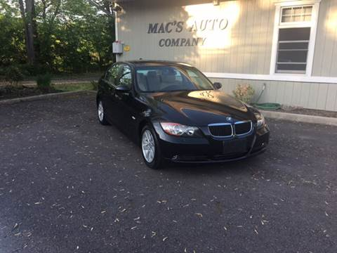 2007 BMW 3 Series for sale at MAC'S AUTO COMPANY in Nanticoke PA