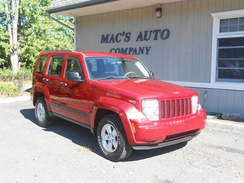 2010 Jeep Liberty for sale at MAC'S AUTO COMPANY in Nanticoke PA