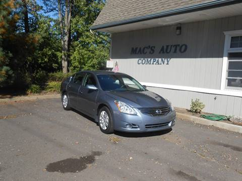 2012 Nissan Altima for sale at MAC'S AUTO COMPANY in Nanticoke PA