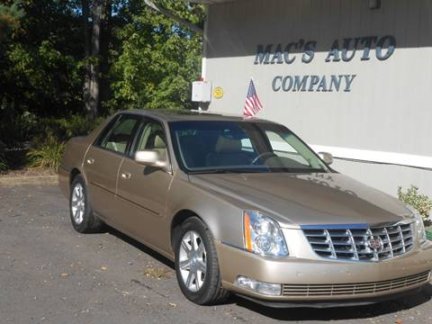 2006 Cadillac DTS for sale at MAC'S AUTO COMPANY in Nanticoke PA
