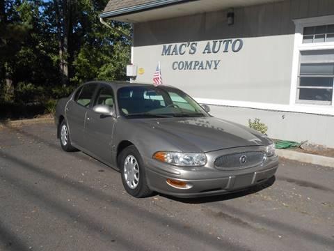 2004 Buick LeSabre for sale at MAC'S AUTO COMPANY in Nanticoke PA