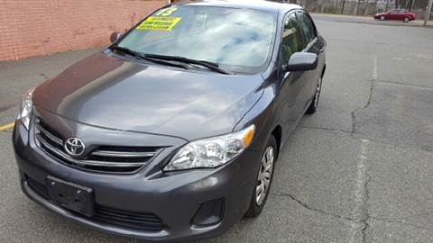 2013 Toyota Corolla for sale at Exxcel Auto Sales in Ashland MA