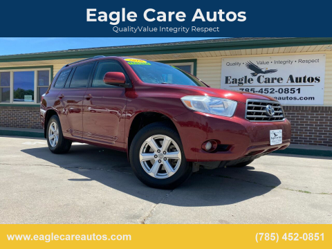 2010 Toyota Highlander for sale at Eagle Care Autos in Mcpherson KS