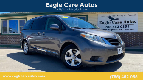 2011 Toyota Sienna for sale at Eagle Care Autos in Mcpherson KS