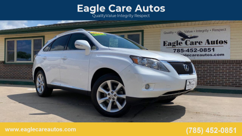 2010 Lexus RX 350 for sale at Eagle Care Autos in Mcpherson KS