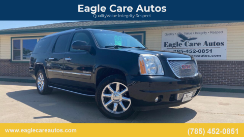 2012 GMC Yukon XL for sale at Eagle Care Autos in Mcpherson KS