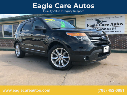 2012 Ford Explorer for sale at Eagle Care Autos in Mcpherson KS