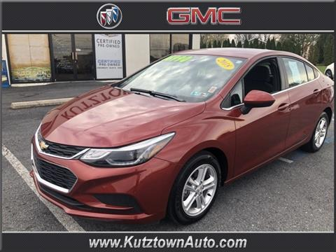 2018 Chevrolet Cruze for sale in Fleetwood, PA