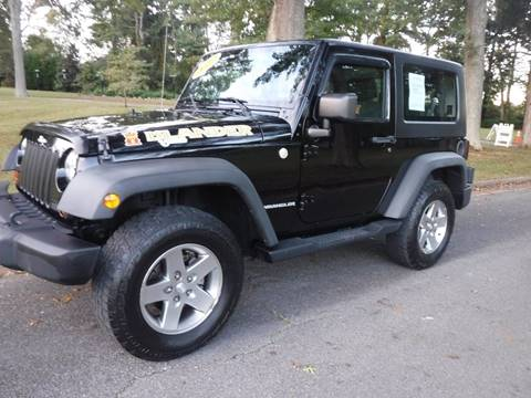 2010 Jeep Wrangler for sale in Kingsport, TN