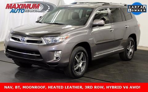 2013 Toyota Highlander Hybrid for sale in Englewood, CO