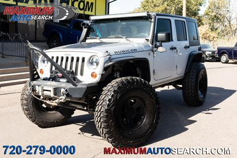 2010 Jeep Wrangler Unlimited for sale in Englewood, CO