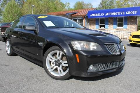 2008 Pontiac G8 for sale in Mooresville, NC