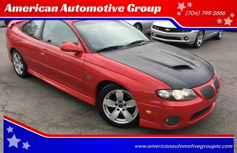 2005 Pontiac GTO for sale in Mooresville, NC