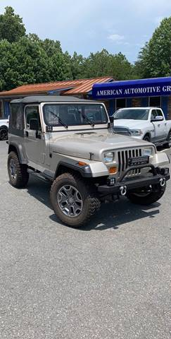 1995 Jeep Wrangler for sale in Mooresville, NC