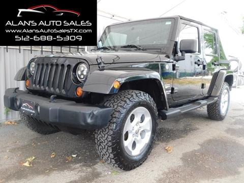 2011 Jeep Wrangler Unlimited for sale in Georgetown, TX