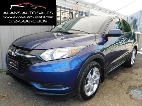 2016 Honda HR-V for sale in Georgetown, TX