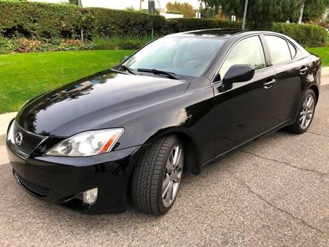 2008 Lexus IS 250 for sale at Donada  Group Inc in Arleta CA