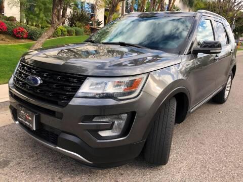 2016 Ford Explorer for sale at Donada  Group Inc in Arleta CA