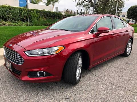 2013 Ford Fusion for sale at Donada  Group Inc in Arleta CA