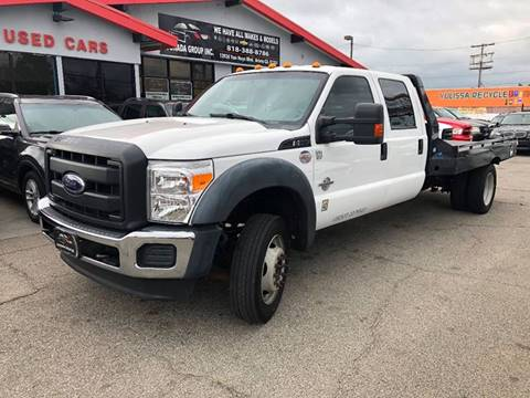 2016 Ford F-550 Super Duty for sale at Donada  Group Inc in Arleta CA
