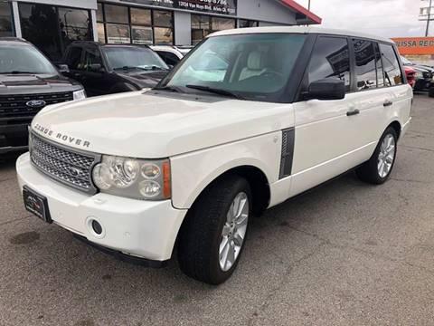 2007 Land Rover Range Rover for sale at Donada  Group Inc in Arleta CA