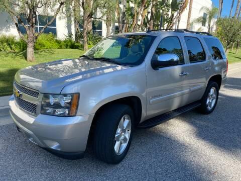 2008 Chevrolet Tahoe for sale at Donada  Group Inc in Arleta CA