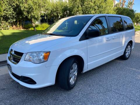 2014 Dodge Grand Caravan for sale at Donada  Group Inc in Arleta CA