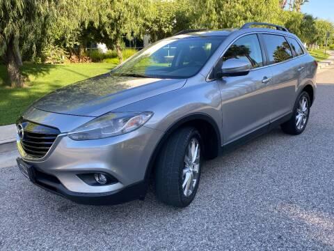 2014 Mazda CX-9 for sale at Donada  Group Inc in Arleta CA