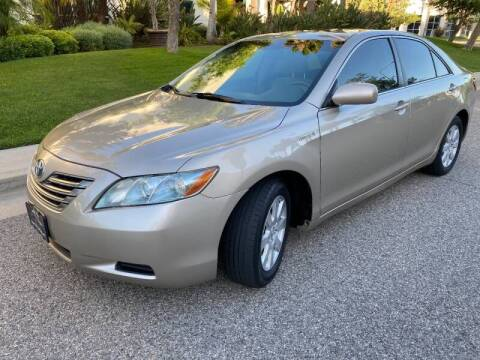 2007 Toyota Camry Hybrid for sale at Donada  Group Inc in Arleta CA