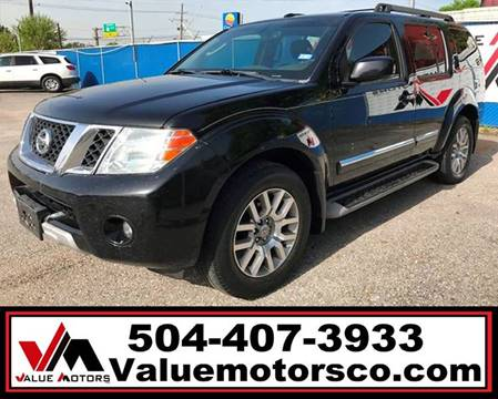 Used Nissan Pathfinder For Sale In Marrero La