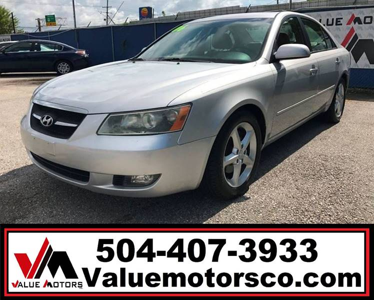 2007 Hyundai Sonata Limited 4dr Sedan In Marrero La