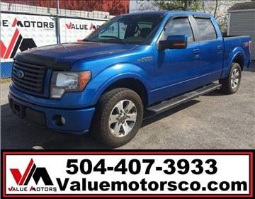 2010 Ford F-150 for sale in Marrero, LA