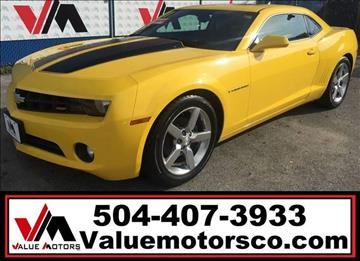 2011 Chevrolet Camaro for sale in Marrero, LA