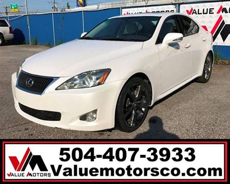 Value motors used car dealer metairie kenner buy here pay here 2009 lexus is 250 email for miles email for price solutioingenieria Gallery