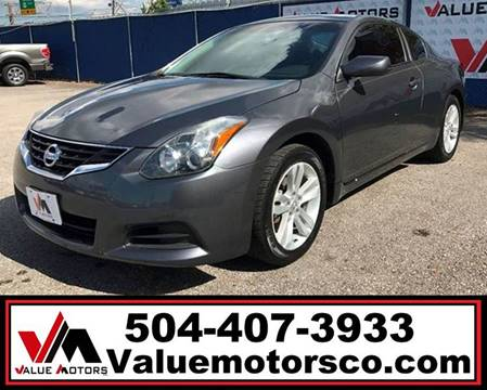 Value motors co best used cars metairie kenner buy here pay nissan altima email for miles email for price publicscrutiny Images