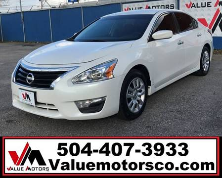 Value motors used car dealer metairie kenner buy here pay here nissan altima email for miles email for price publicscrutiny Gallery