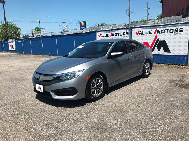 2016 Honda Civic LX 4dr Sedan CVT In Marrero LA