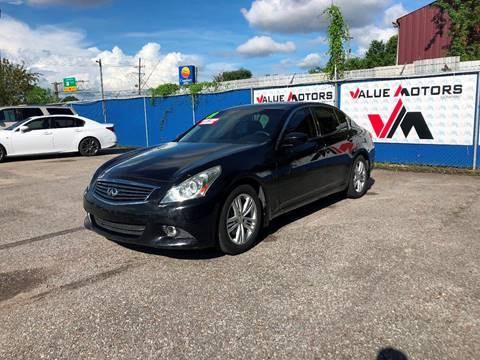 Infiniti Bad Credit Auto Loans For Sale Marrero Value Motors Co
