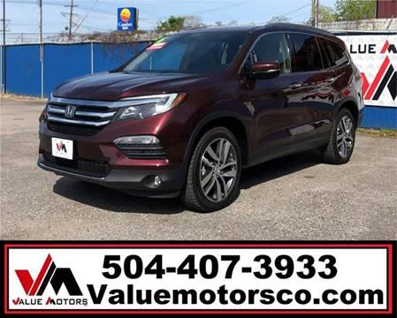 Best Value Used Suv >> 2016 Honda Pilot For Sale In Marrero La