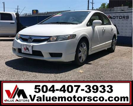 2011 Honda Civic for sale in Marrero, LA