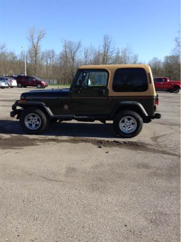 1995 Jeep Wrangler For Sale At JEREMYS AUTOMOTIVE In Casco MI