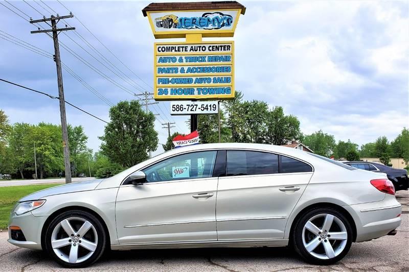 2012 Volkswagen CC for sale at JEREMYS AUTOMOTIVE in Casco MI