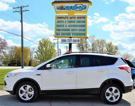 2013 Ford Escape for sale at JEREMYS AUTOMOTIVE in Casco MI