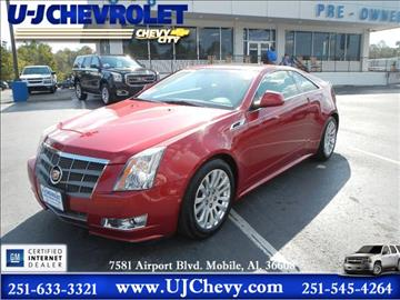 2011 Cadillac CTS for sale in Mobile, AL