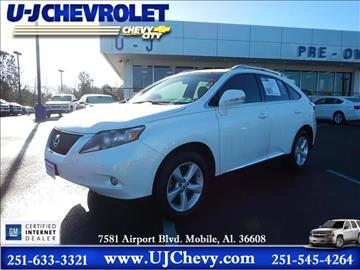 2012 Lexus RX 350 for sale in Mobile, AL