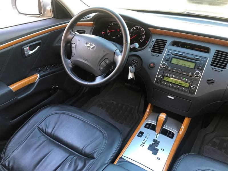 2008 hyundai azera limited 4dr sedan in rocklin ca 3d auto sales 2008 Hyundai Azera Limited Interior contact