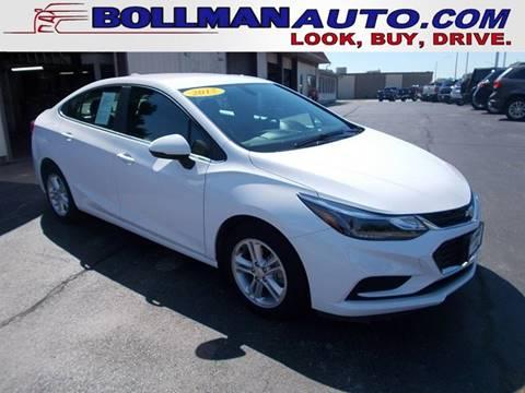 2017 Chevrolet Cruze For Sale At Bollman Auto Center In Rock Falls IL